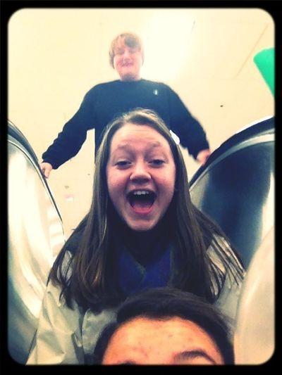 Me Patrick and Janasias forehead!