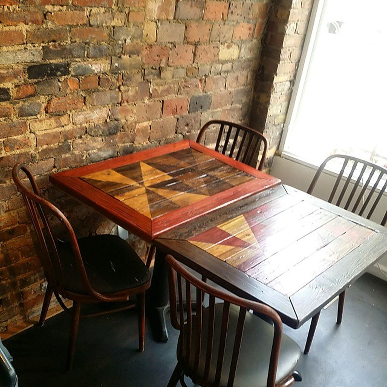Next round of table deliveries at @parkvine ! Rustic tables to order using reclaimed wood - want one? The stain treatments are custom to your specs. Hingestore Homedecor Parkvine Rustic reclaimedwood table customwork