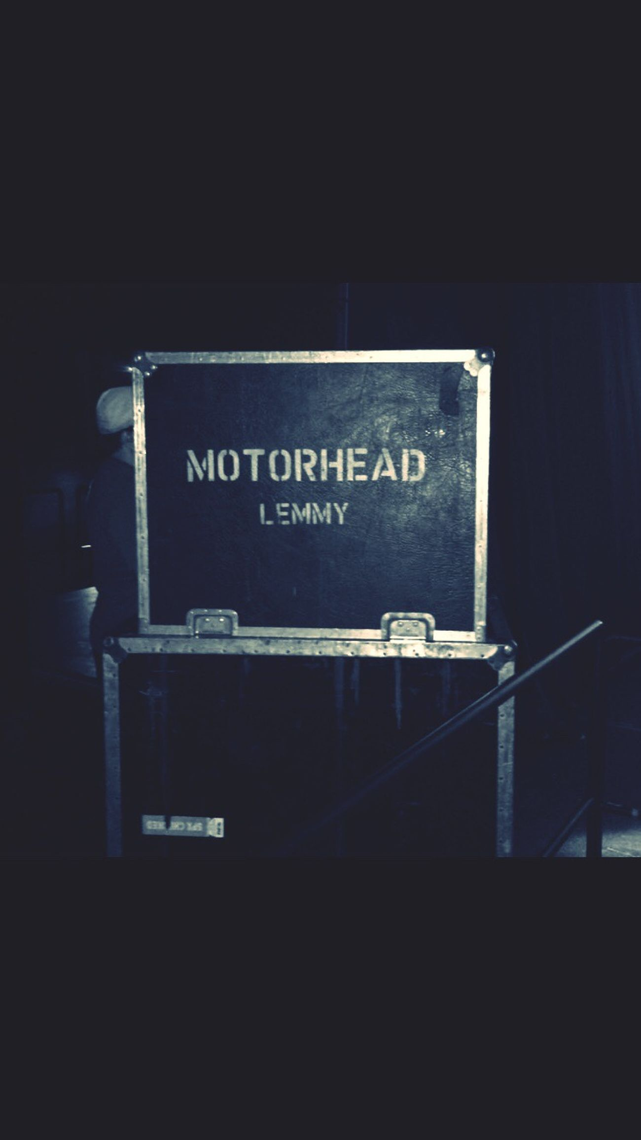 Motörhead Stage - Performance Space Music No People LemmyKilmister Motörhead Friends Rocknroll First Eyeem Photo