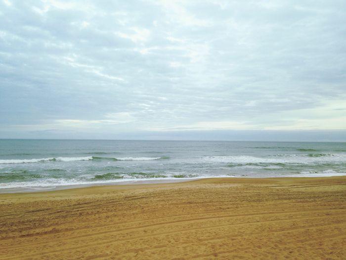 Ocean views make me happy. Ocean Ocean View Water Beach Outer Banks, NC Clouds