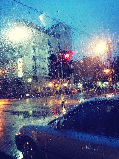 Evening Sky Rainy Day Lifestyle... #iPhone5 #snapseed Taking Photos It's raining :/