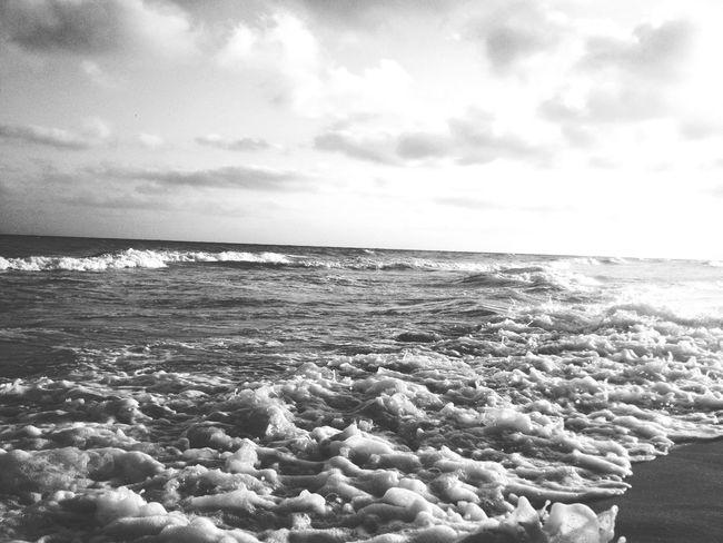 Sea Nature Beach Waves Egypt Sunset Northcoast Blackandwhite