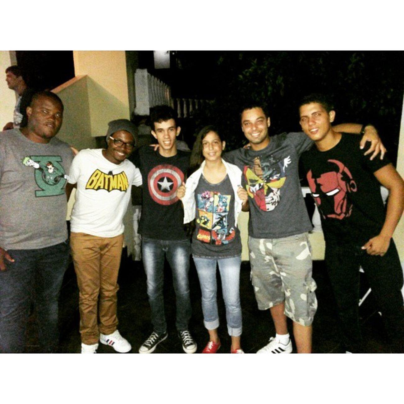 Vcs são marvets, mas são meus amigos. Marvel DC Comics Amigos Friends Photododia Retiro2015 Fanboys Happy Instangood Geeks