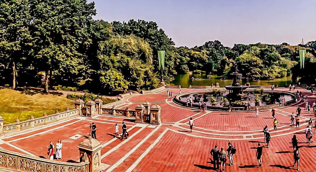 From My Point Of View Walking Around Summer2015 Streetphotography I Love My City NYC LIFE ♥ Walking Around Eye4photography  Bethesda Fountain, Central Park, NYC Urban Lifestyle