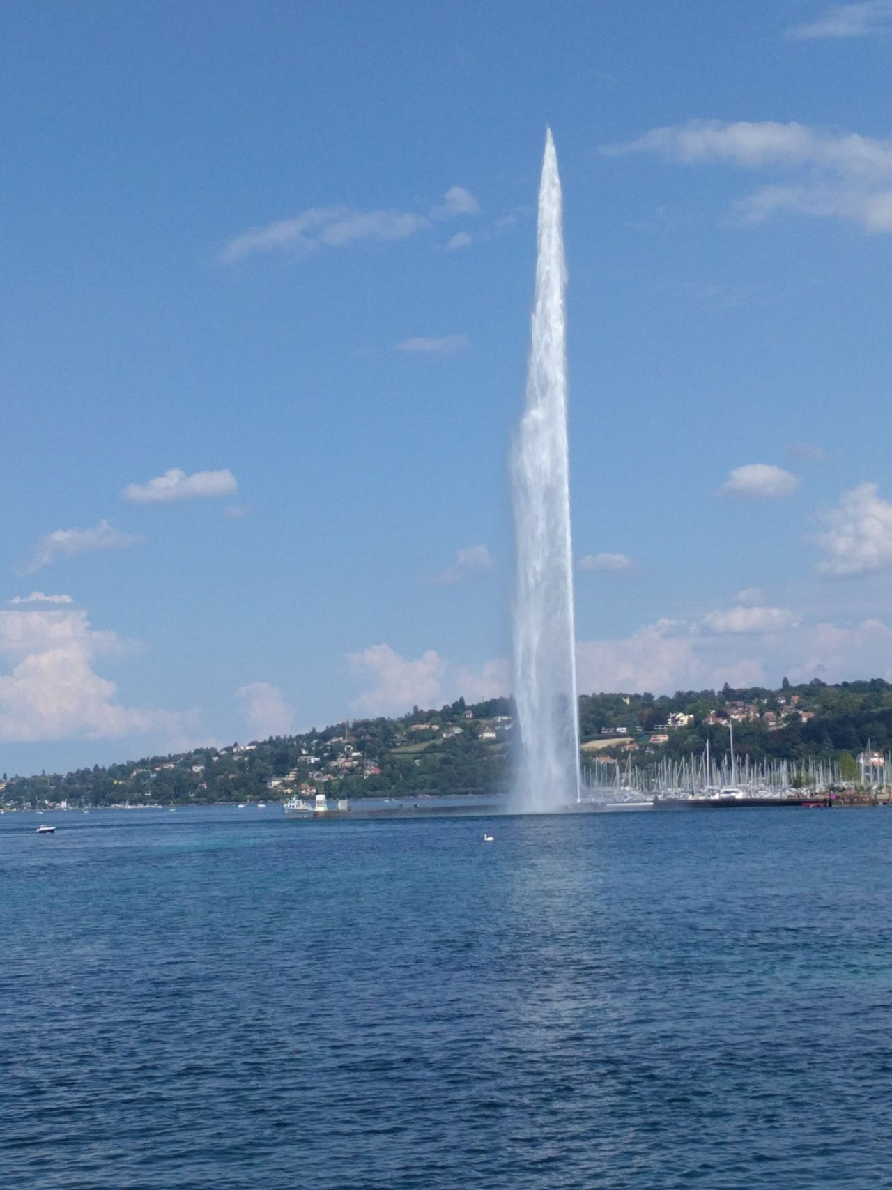 Beauty In Nature Day Fountain Lake Lakeshore Nature Outdoors Sky Splashing Travel Destinations Water