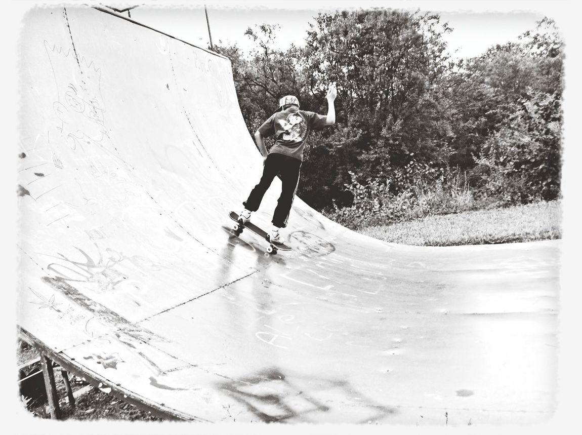 au skatepark POSEY!!!