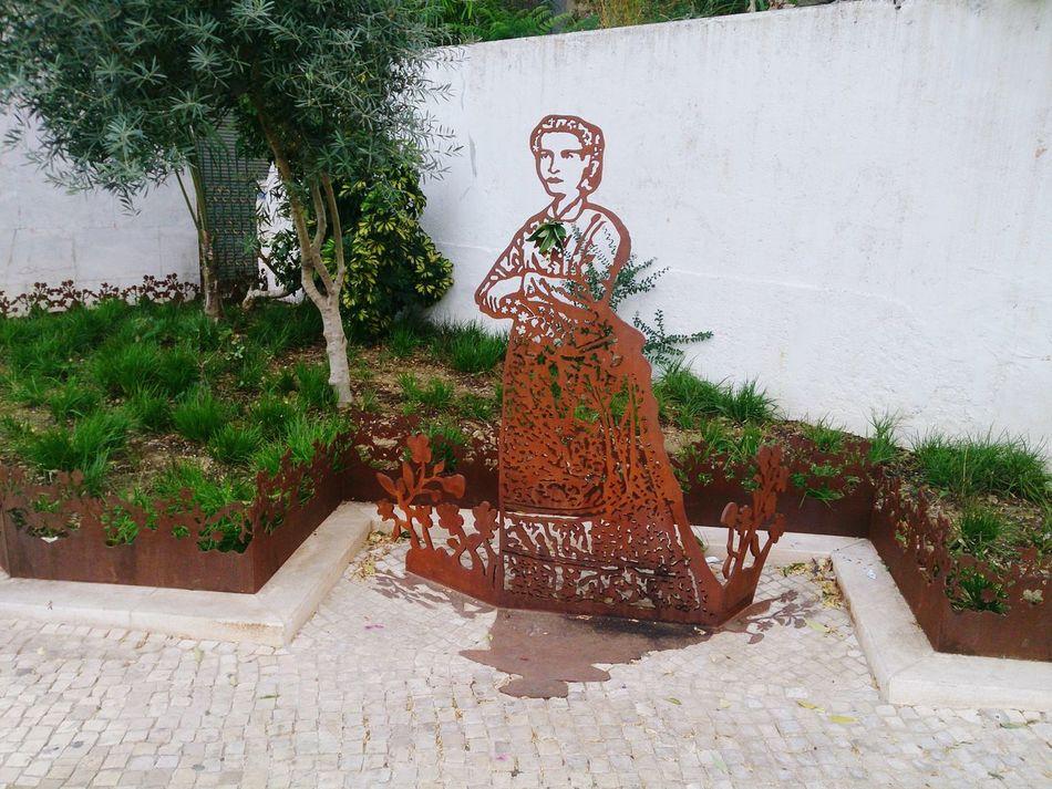 Madre Teresa De Saldanha Women Power Sculpture Lisboa