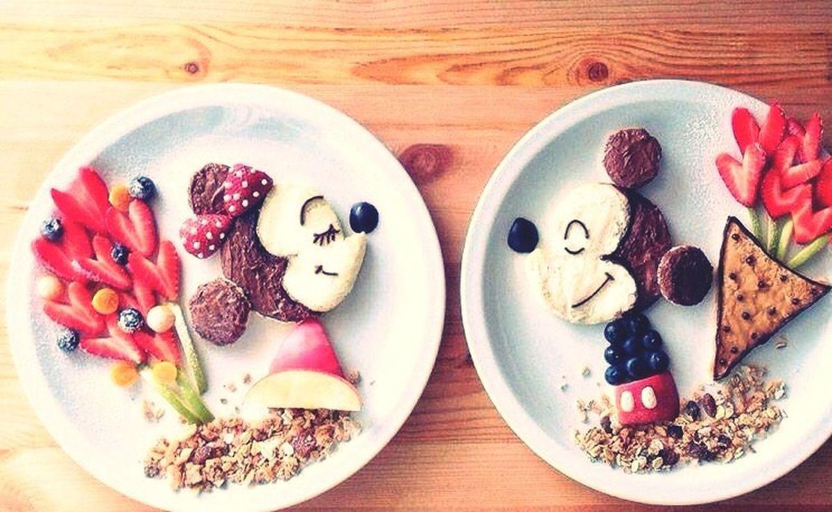 Disney Frühstück Love Liebe