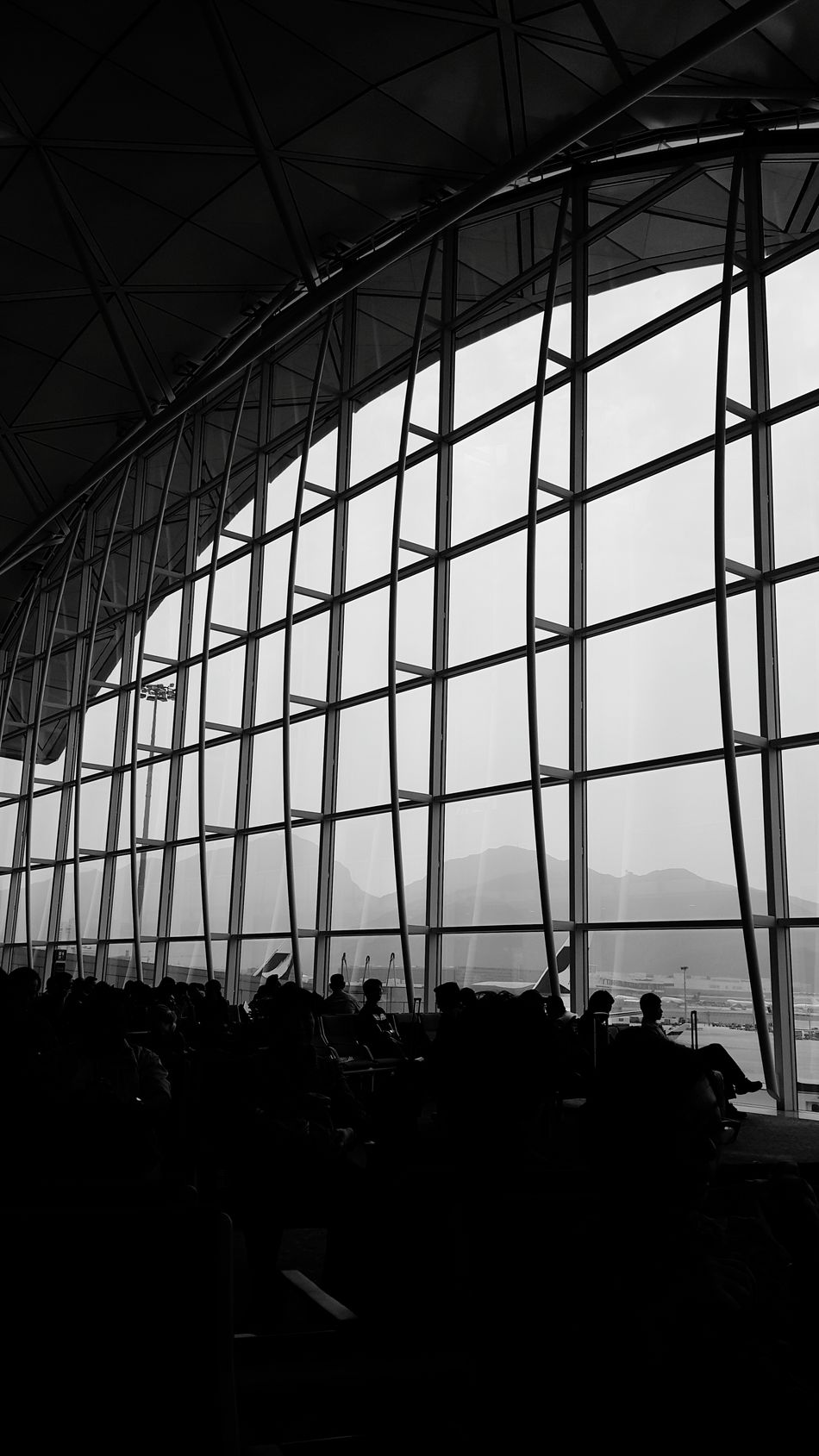 Waiting Boarding On My Half Way 首爾 Seoul 서울 CX 418 Sktravellingdiary