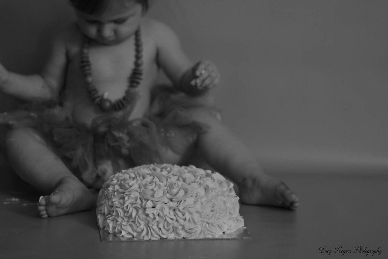 Cake Smash 1st Birthday Black And White Cake Everywhere Baby Messybaby