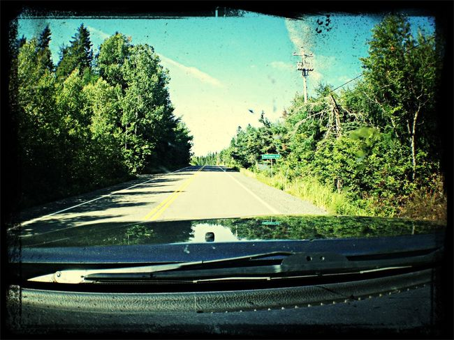 On the road again…