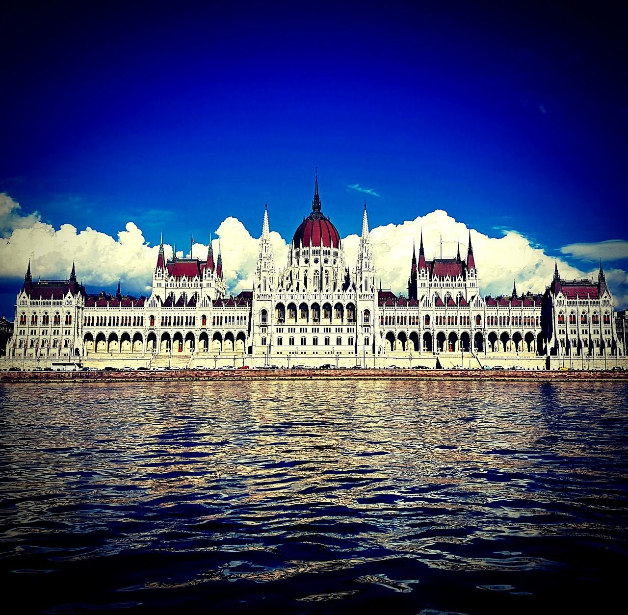 Water Architecture Sky Built Structure River Building Exterior City Outdoors Budapest Hungary Danube Danube River Parliament Europe My City City Life City View  Cityexplorer Discover Your City Explore Europe Trip Citytrip View Capital