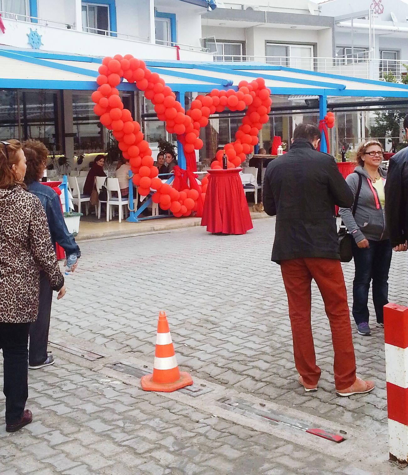 Heart ❤ Love Wine Ballons Iloveballoons LoveFestival Dalyankoy Cesme, Turkey 🎈🎉💙💛💚💖💜