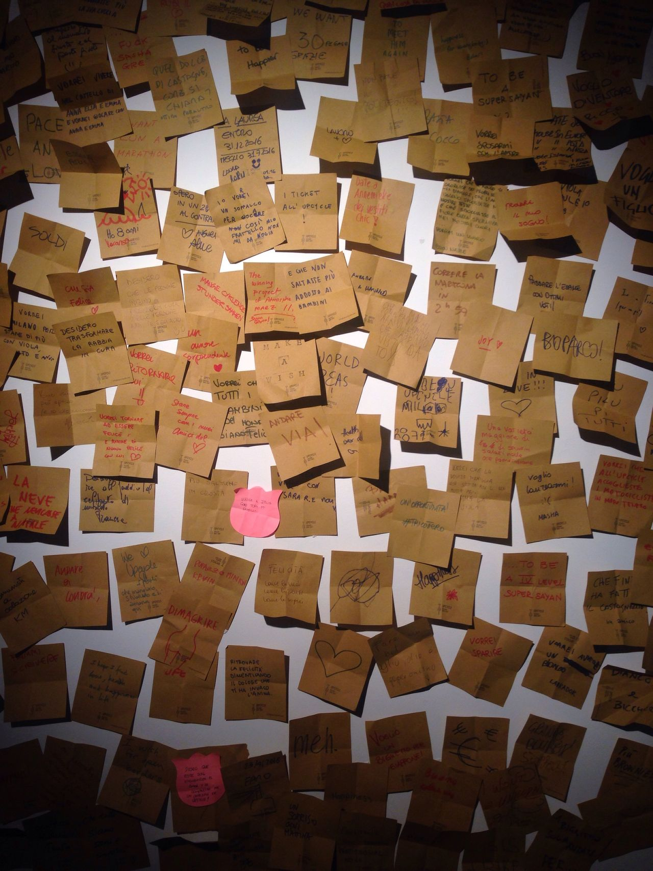 Make a wish... all the wishes for 2016 we all made! - Makeawish Happy New Year 2016 Wishes Enjoying Life Happiness Love Postit