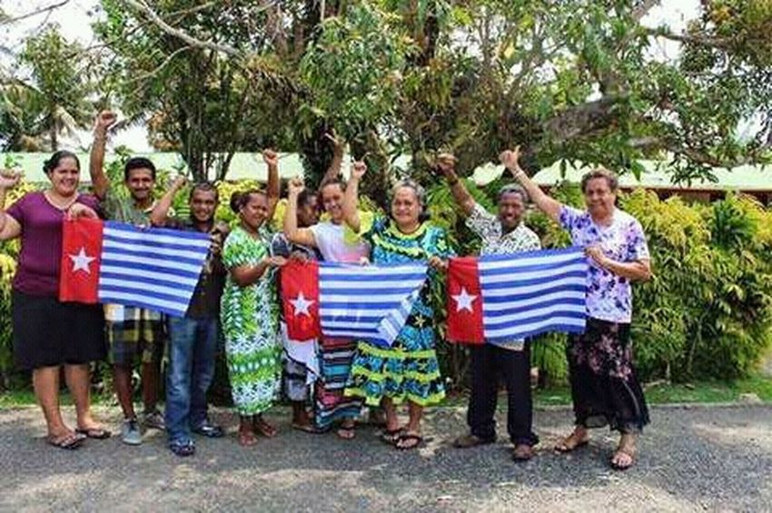 Samoan people giving soport for free West Papua. Patriotism West Papua Culture West Papua Flag Lifestyles Flag
