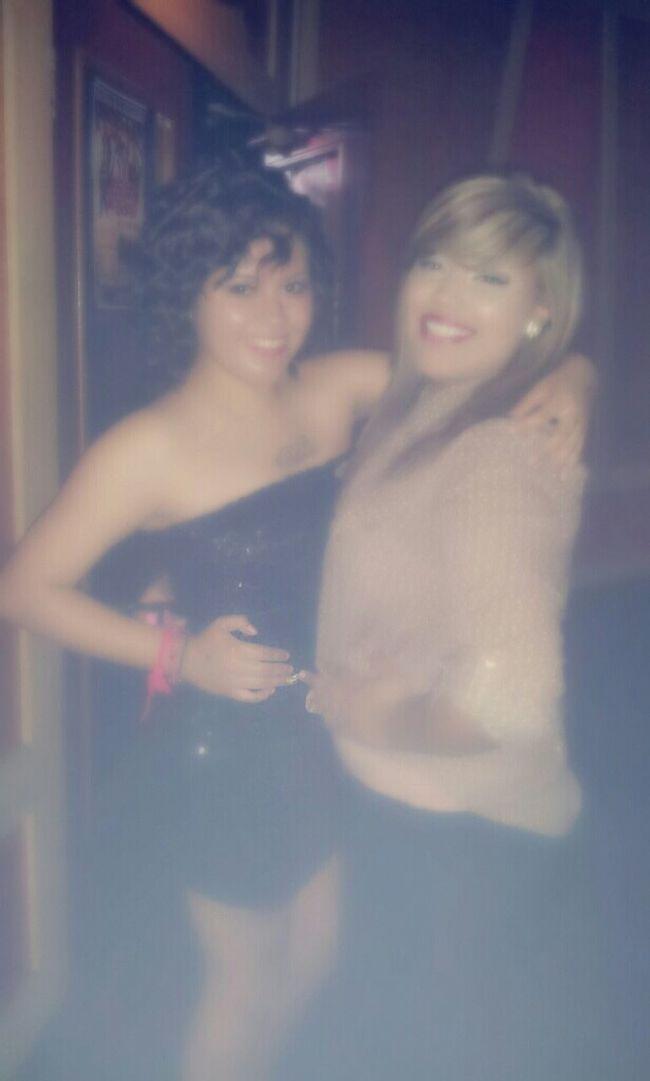 My babymomma and i at 01 (: