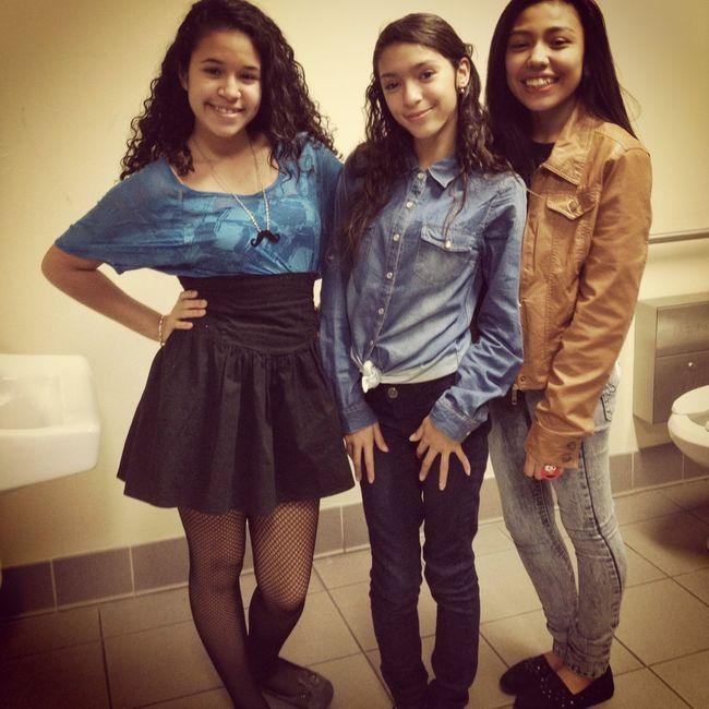 Dayane, Sheyla, & I