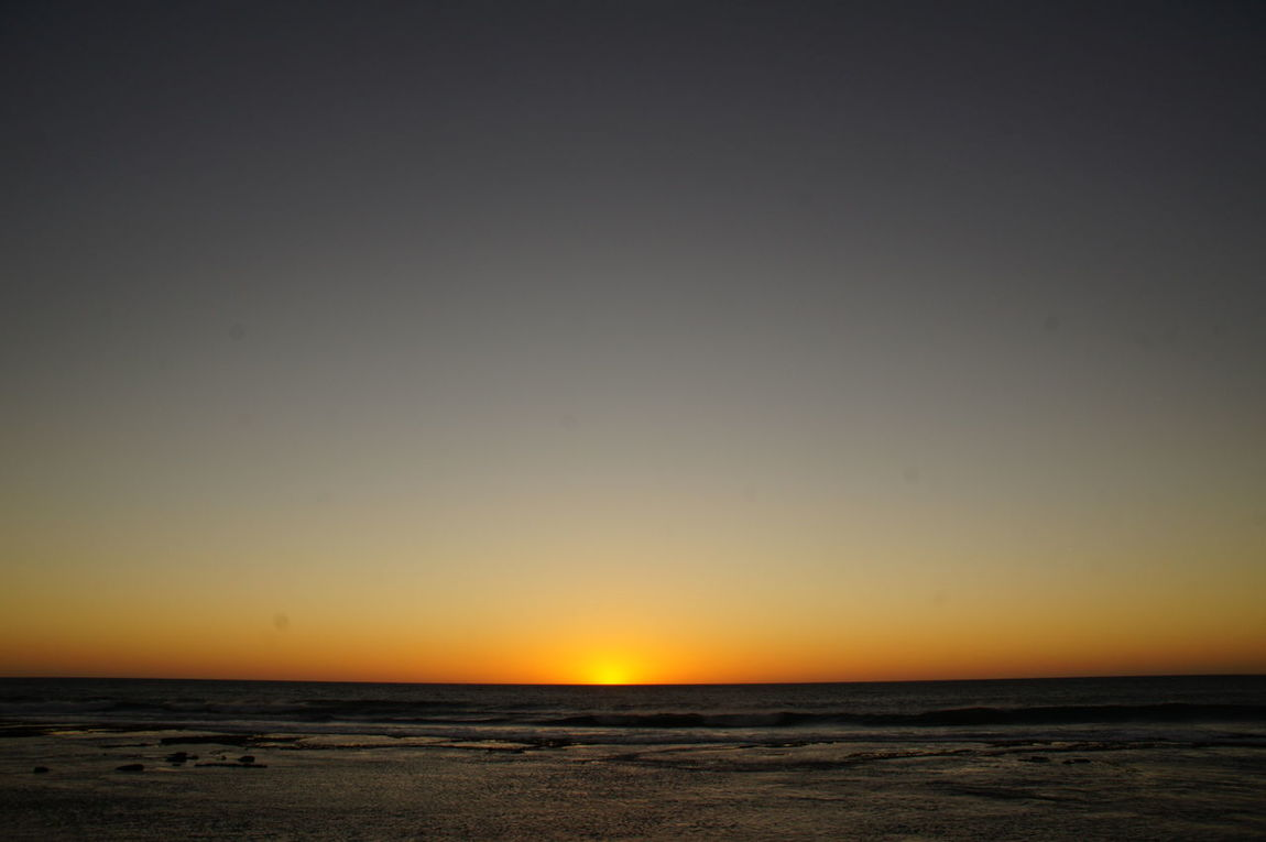 Sunset Western Australia Ocean View Beauty In Nature Orange Sky Blue Colored Nature No People Scenics Tranquil Scene