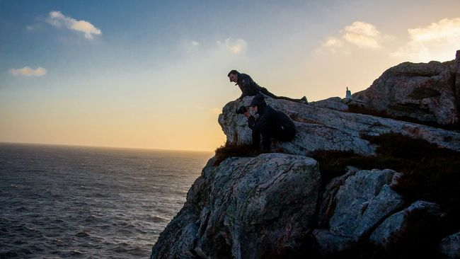 Taking Photos Hobby Extreme Photography Mountains Sunset Hanging Out Enjoying The View Øygarden