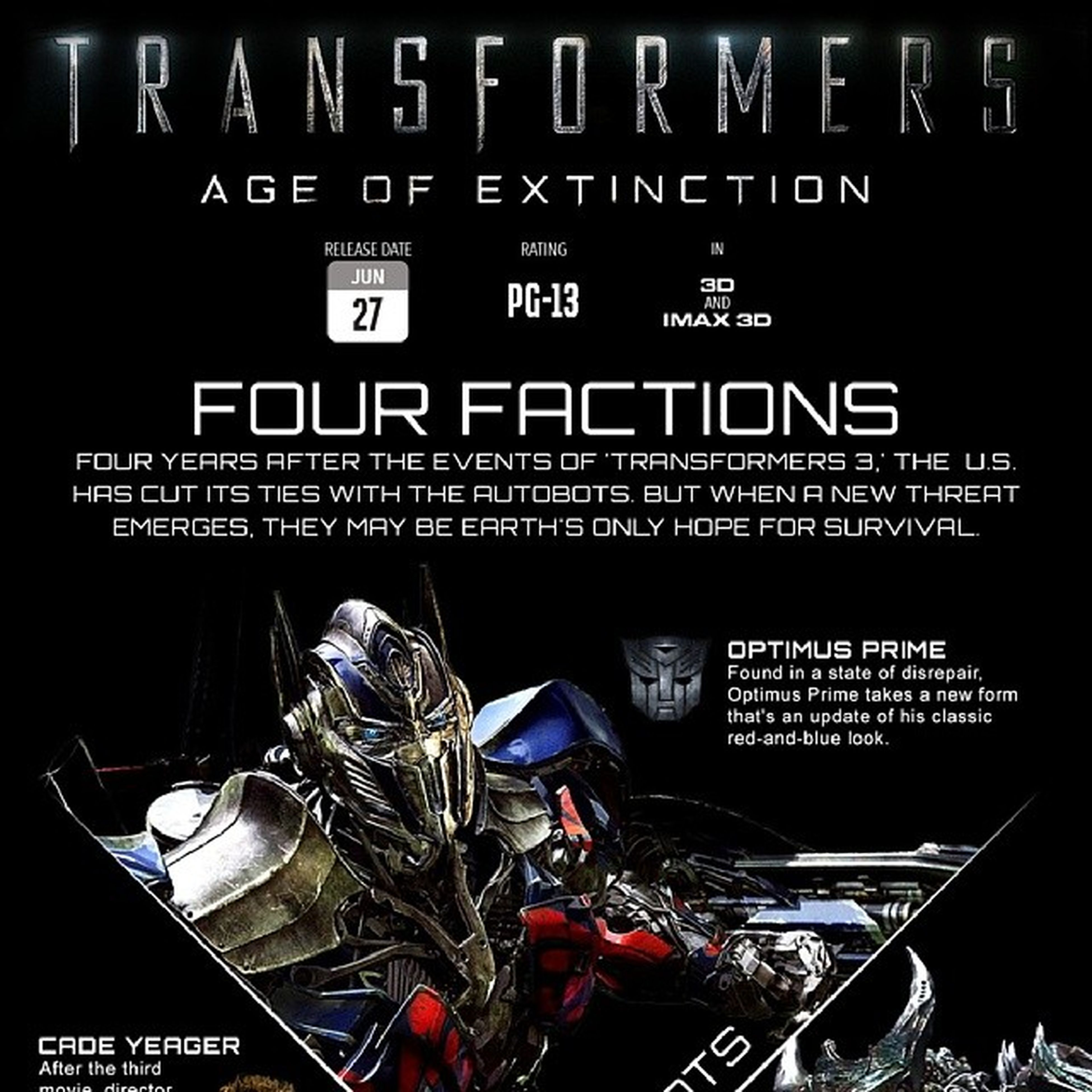 Waiting for Transformers Age of Extinction Premier 27 06 2014 Amazing action N new character Decepticon n Autobot Crop1 Optimus Prime