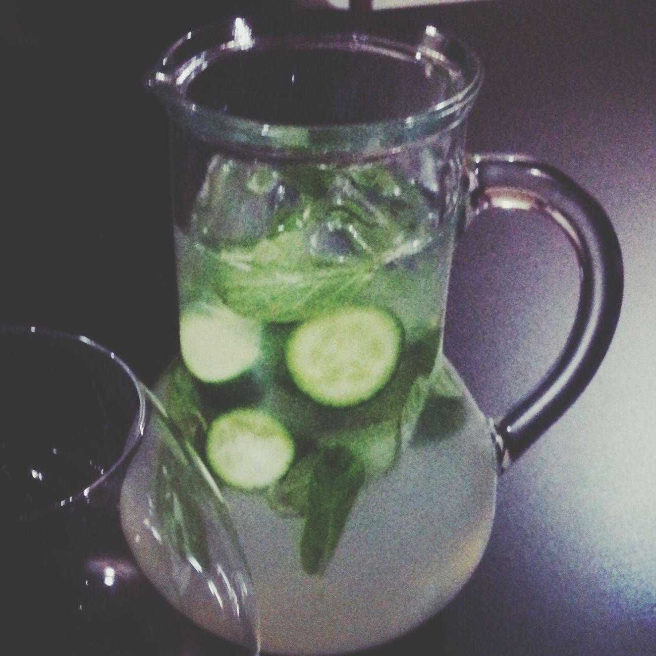 Lemon Juice Cucumbers Enjoying Life Yummy