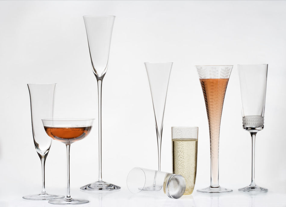 Alcohol Champagne Champagne Flute Close-up Day Design Drink Drinking Glass Food And Drink Freshness Indoors  Liqueur No People Party Red Wine Refreshment Shot Glass Still Life Studio Shot Table Variation White Background Wine Wineglass