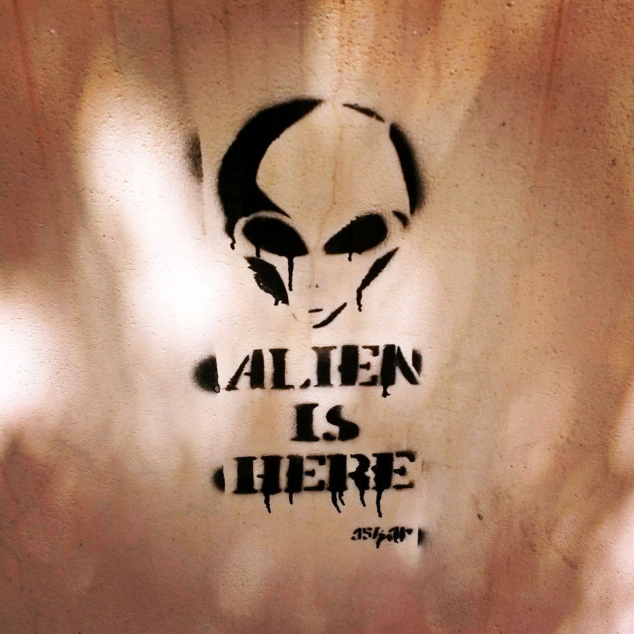 Aliens Extraterrestres Graffiti