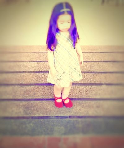 Red doll shoes Psychological Photography Visualstoryteller Mood Expressionism Little Girl In The Mirror Girl