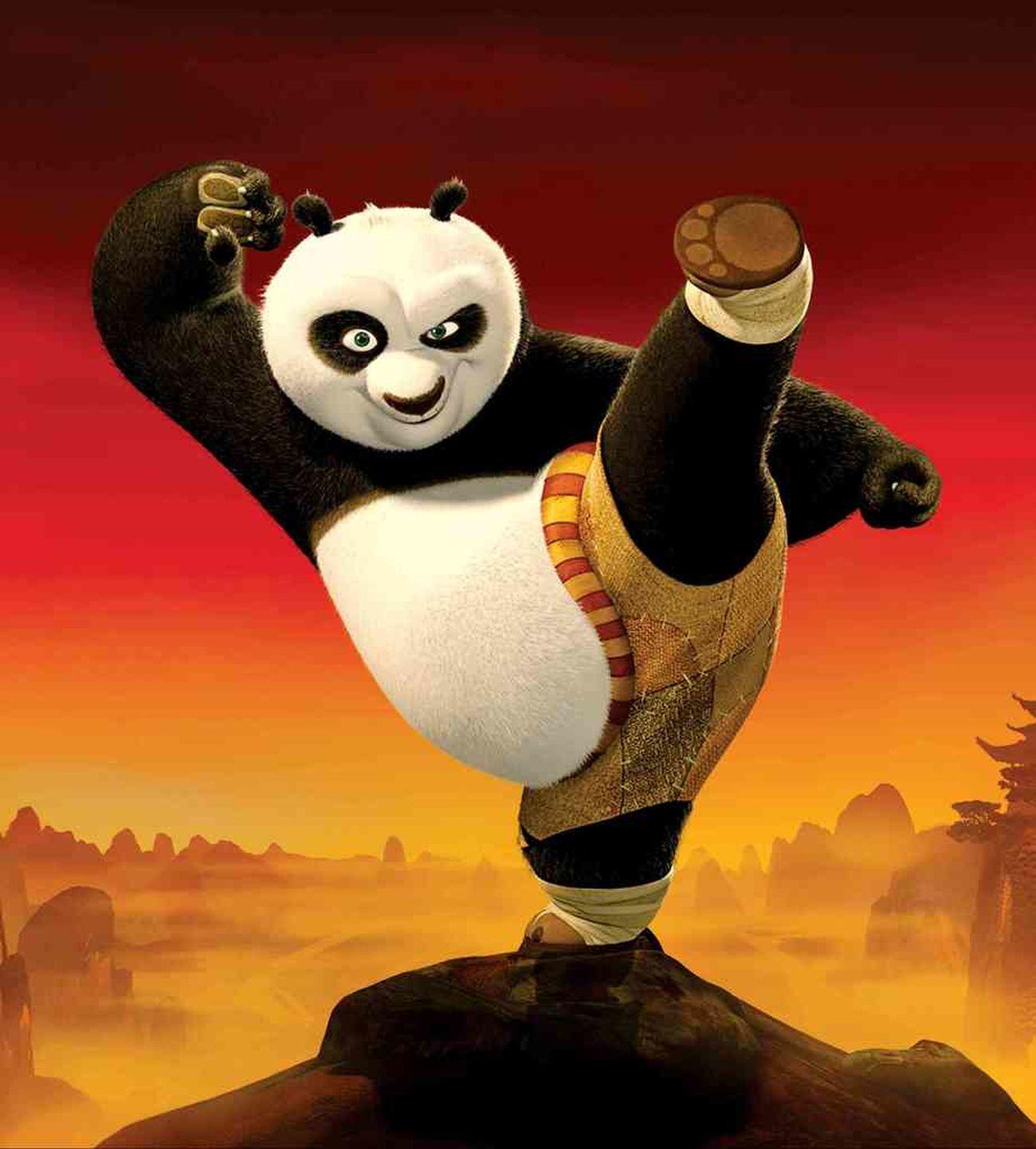 pow the dragon warrior The Kung BW PANDA ♡♡ Red Panda Relaxing
