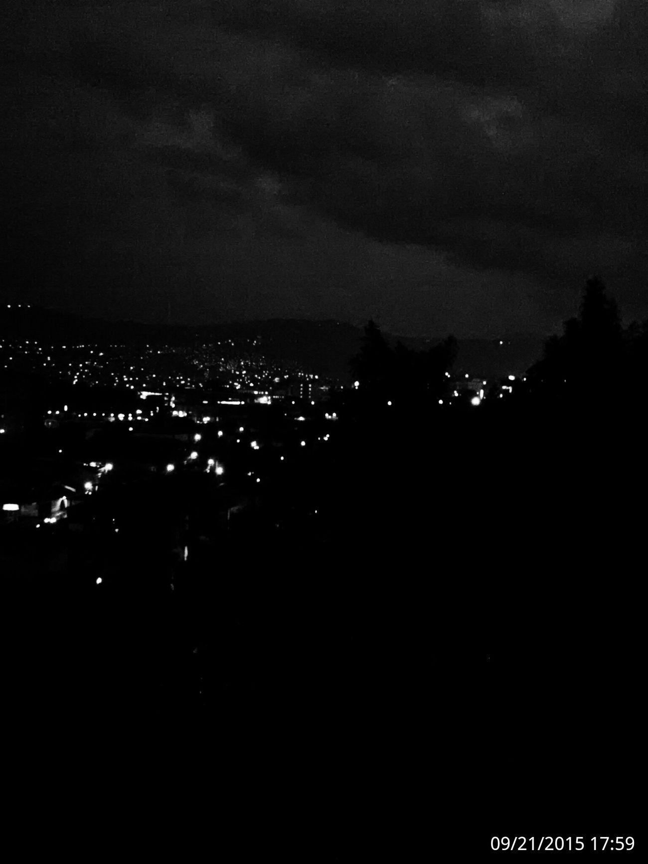 Tegucigalpa,Honduras Nightphotography Relaxing Coffee
