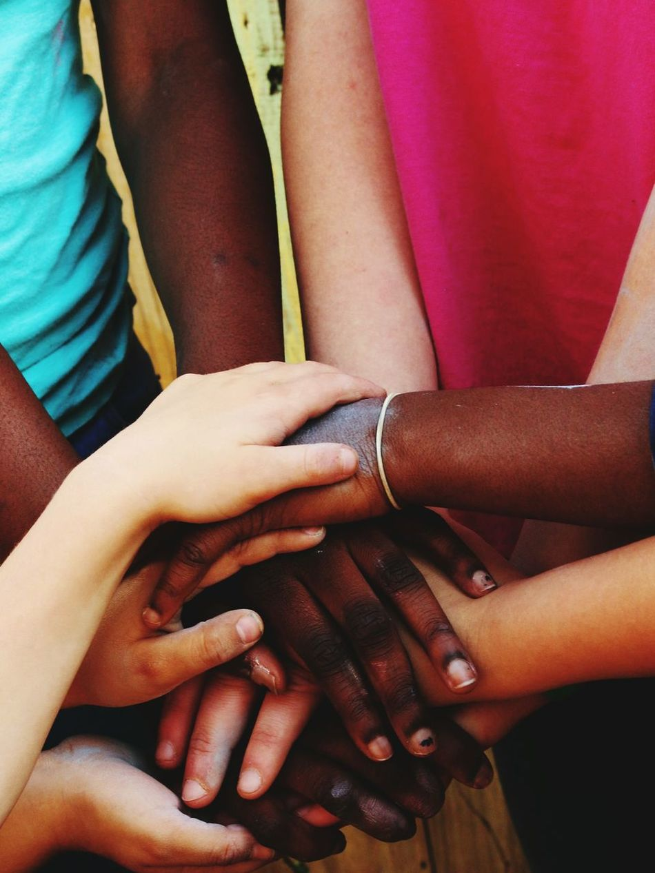 Diversity♡ All In This Together Hands Love HUMANITY Youth Of Today EyeEm Diversity