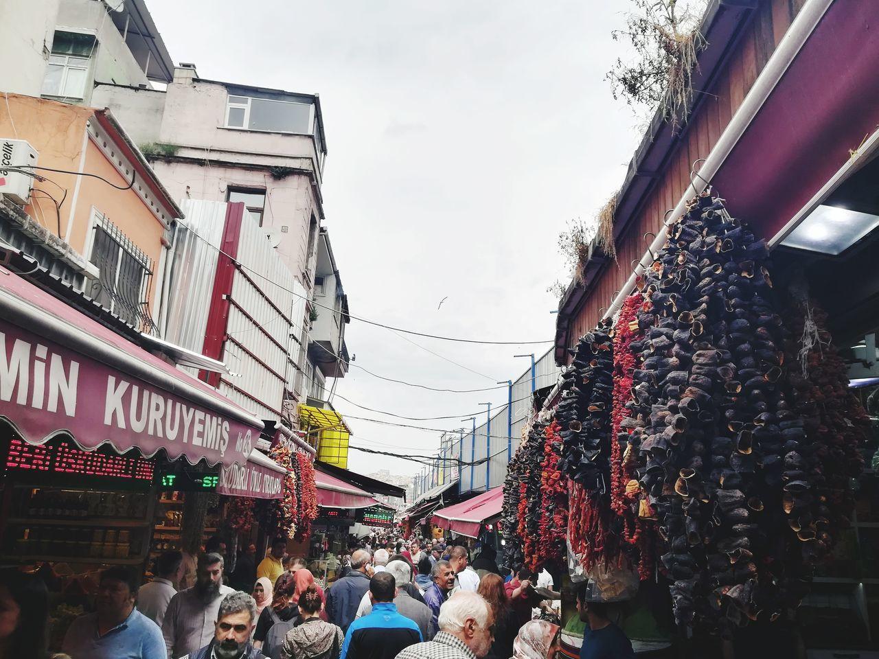 Tahtakalespot Large Group Of People Cityscape Travel Photography Alisveris Konstantinapolis Tarihiyarimada