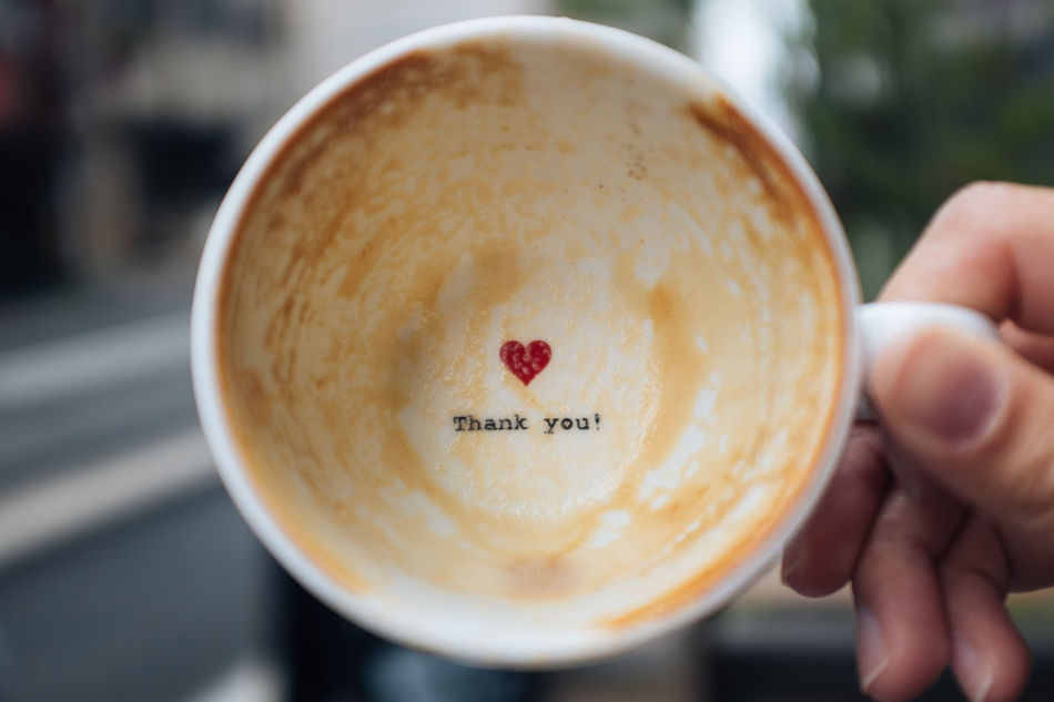 A lovely note after coffee time :) Cafe Close-up Coffee Coffee - Drink Coffee Cup Coffee Time Drink Focus On Foreground Food Food And Drink Freshness Holding Human Body Part Human Hand Latte Ready-to-eat Refreshment TCPM Art Is Everywhere