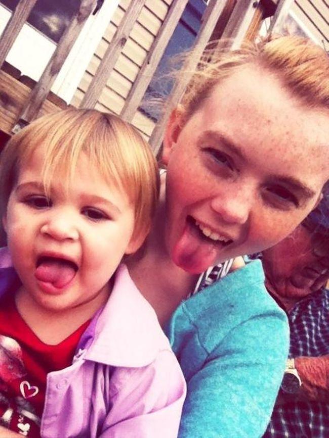 Babysitting :)