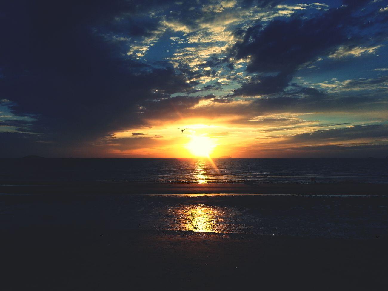 룰룰룰루루루룰루루루후룰루 Sunset Clouds Nature Sky