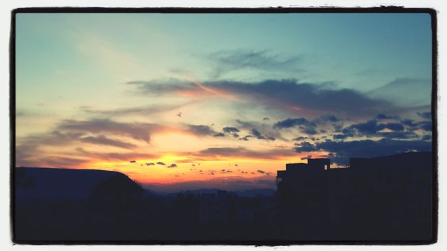 Multiple Layers Sunset Mountain Sunset And Clouds  Sunset Colors beautiful dawn..!