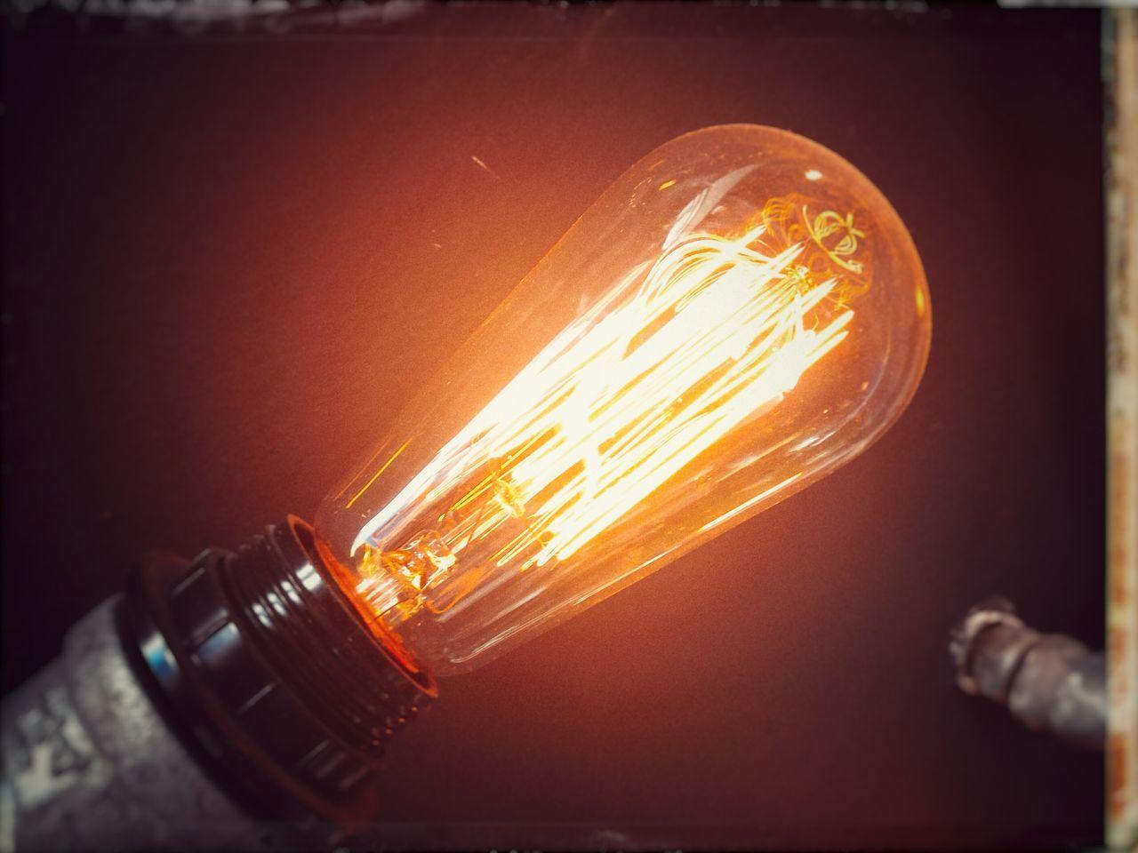 Polaroid Peeloff Alternative Process Incandescent Light Light And Shadow Light Bulb Vintage