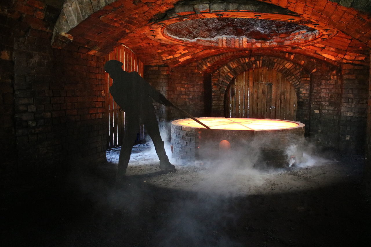 Heat - Temperature Indoors  Molten Smelting Old Vintage Ironwork  Ironworks Workstuff Place Of Interest Industrial Industrial Photography Industrial Revolution