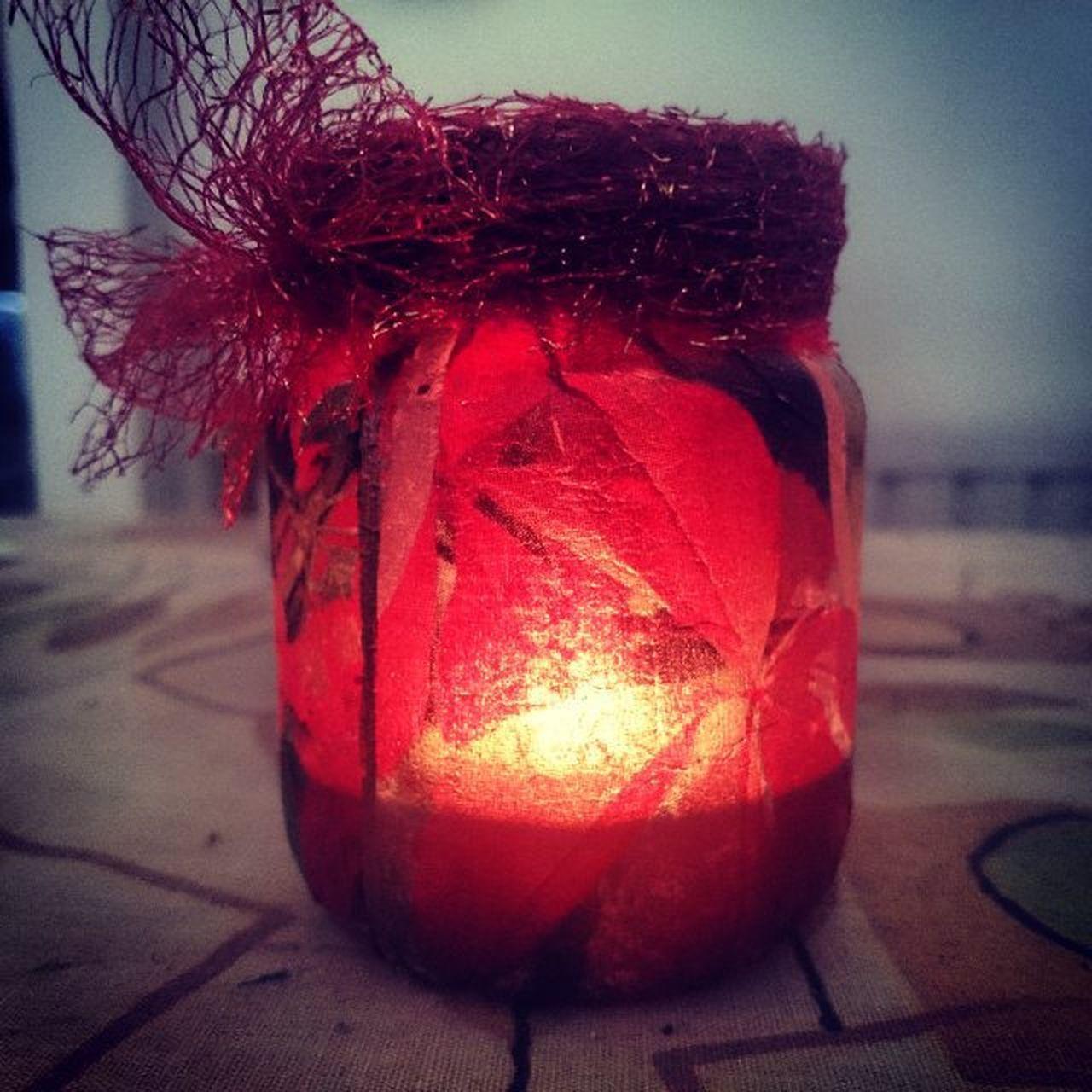 Perlepapillon Candle Candleholder DIY Homemade Handmade Autumnwinter Autumnwintermood