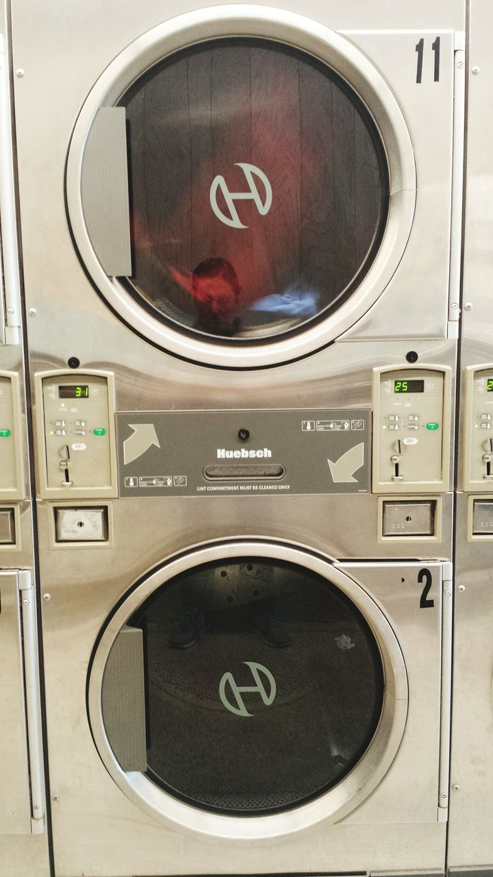 laundry, washing machine, dryer, laundromat, circle, machinery, appliance, utility room, convenience, chores, washing, shape, self service, indoors, water conservation, technology, hygiene, domestic life, no people, cleaning, close-up, day