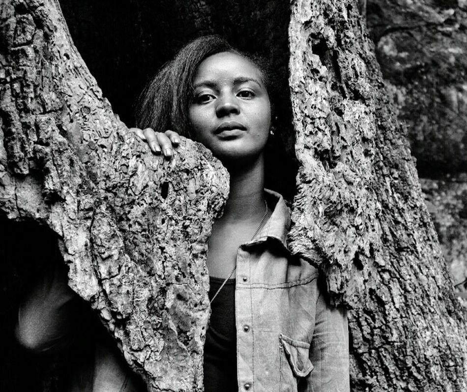 The Fashionist - 2015 EyeEm Awards Monochrome Nairobi Kenya Portrait Life Beauty