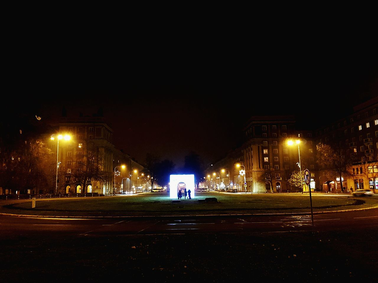 Night No People Outdoors Gas Station Sky Czech Republic🇨🇿 Night Lights Road Illuminated Ostrava Christmas Decoration Gate Plaza City Ufo Light