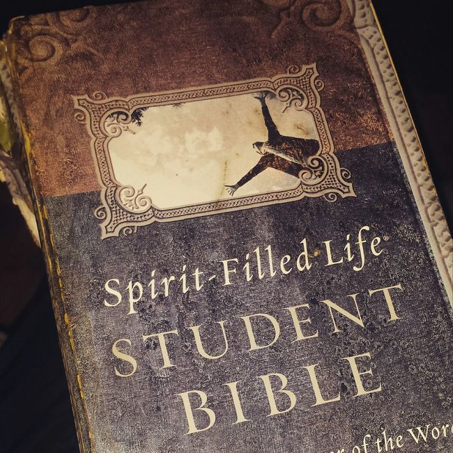 The Bible you can't turn off. It's always on and doesn't need to be charged. Its power source? The Holy Spirit. It is life, it is power, it is Jesus made flesh. It is sharper than any two edged sword. It is a mirror showing you where you are, who you are and where you're going. It is a book about the greatest love story of all time. Have this 8 years now though i haven't read it everyday for those 8 years, something happens every time i pick it up. Psalm119v105