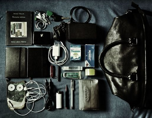 what's in my bag by Barbara Rigon