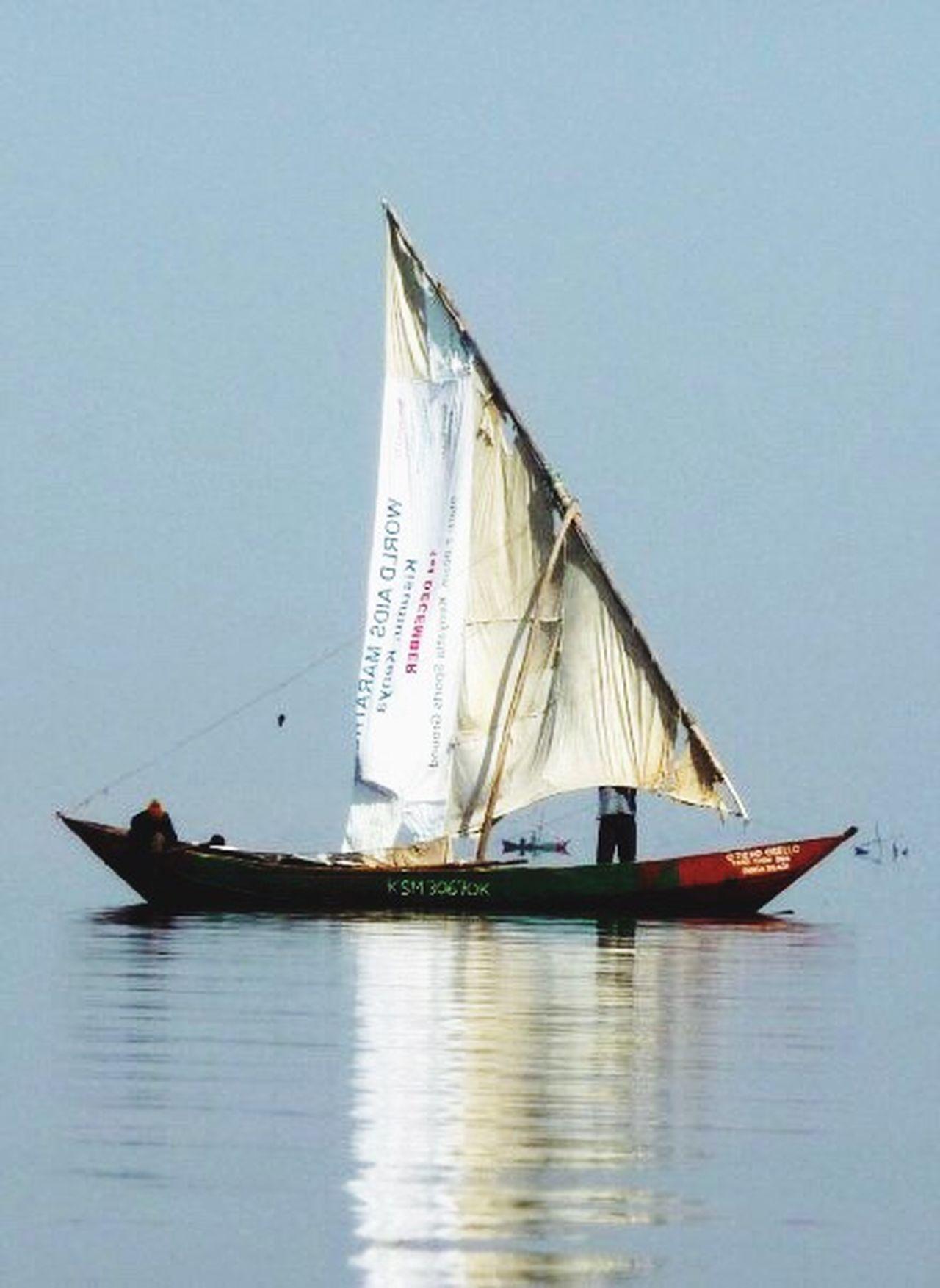 Nautical Vessel Transportation Sailing Mode Of Transport Sea Sailboat Water Outdoors Sky No People Day Sailor Kenya