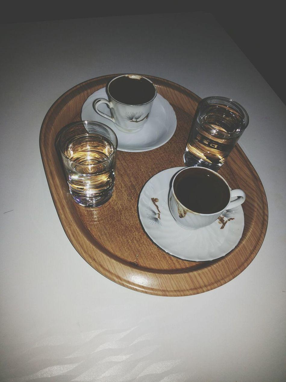 Turkish Coffee Coffee Time Relaxing Bir kahvenin kirk yil hatri varmis, gel bir kahve icelim kirk yil hatrimiz olsun ♥