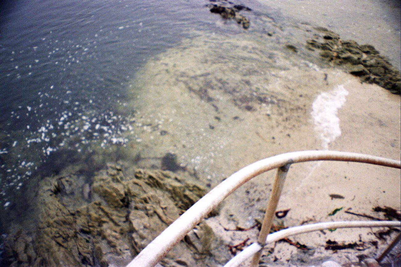 Film Koduckgirl Water High Angle View Sea Beach La Sardina Portra800 Carmel Highlands