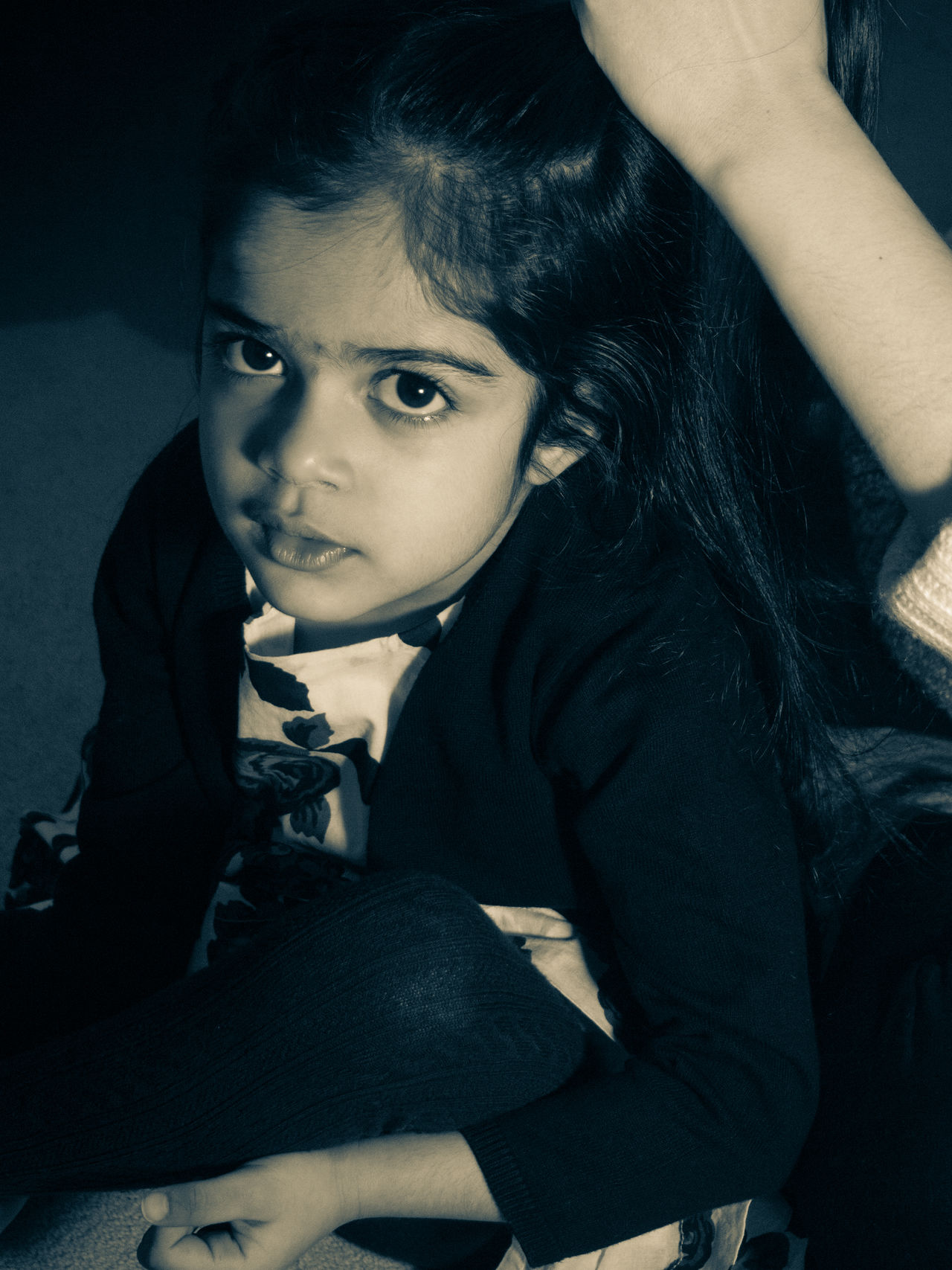 After the crying is over. Asian  Black Hair Child Childhood Close-up Crying Day Disciplined Elementary Age EyeEm Best Shots EyeEm Gallery EyeEmbestshots Eyeemcollection EyeEmPortraits Girls Indian Indoors  Looking At Camera People Portrait Real People Sitting Young Adult