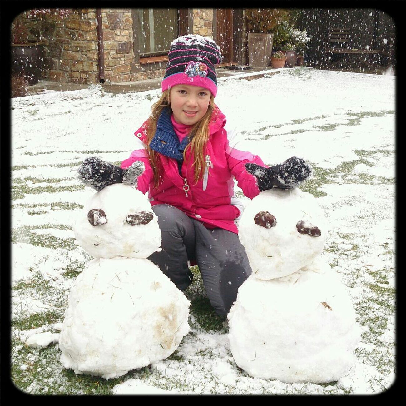 En La Nieve! Madrid Nieve. Snowman⛄ Making A Snowman