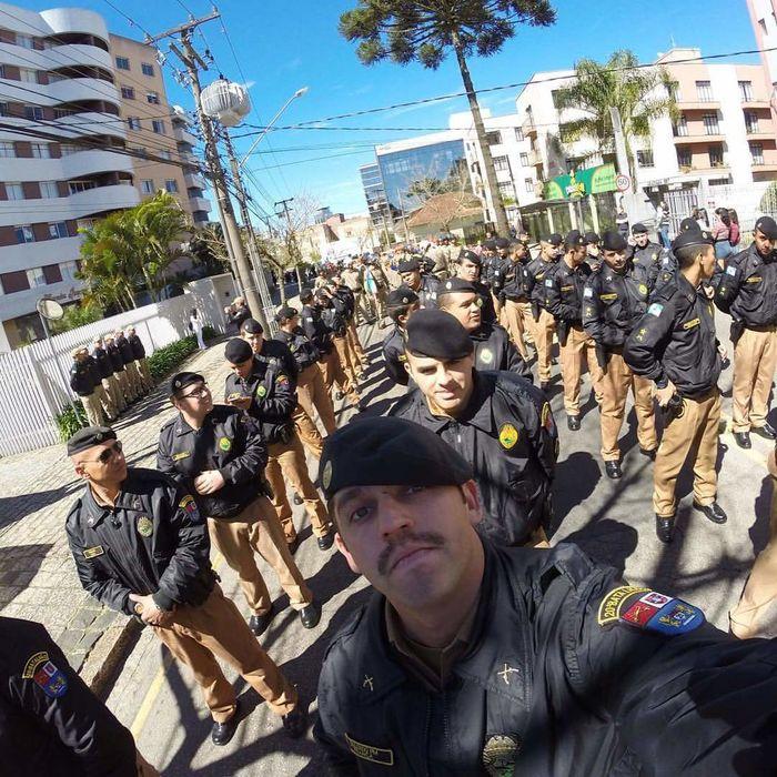 Glorious PMPR Policia Militar Paraná Sete De Setembro Soldiers TRUE HEROES